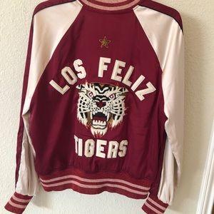 Pam & Gela Jackets & Coats - PAM & GELA Los Feliz Tigers Bomber Jacket